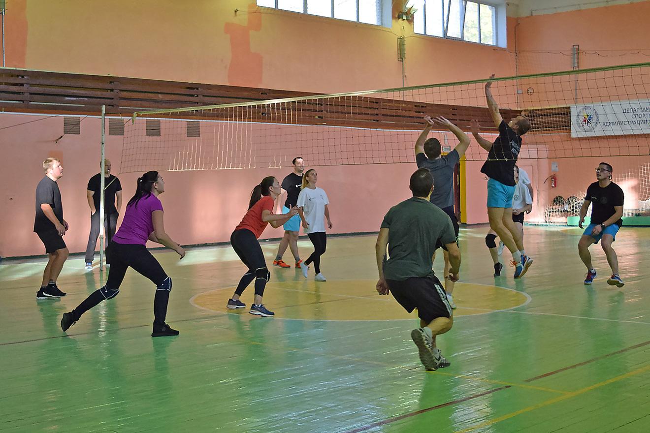 Турнир по волейболу судостроительного кластера, октябрь 2020