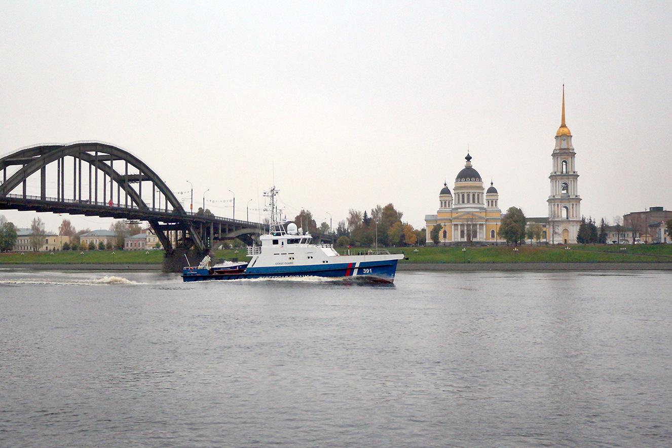 30 октября на ССЗ «Вымпел» подписан приёмный акт на пограничный катер проекта 1496М1Э «Ламантин» заводской номер 01413