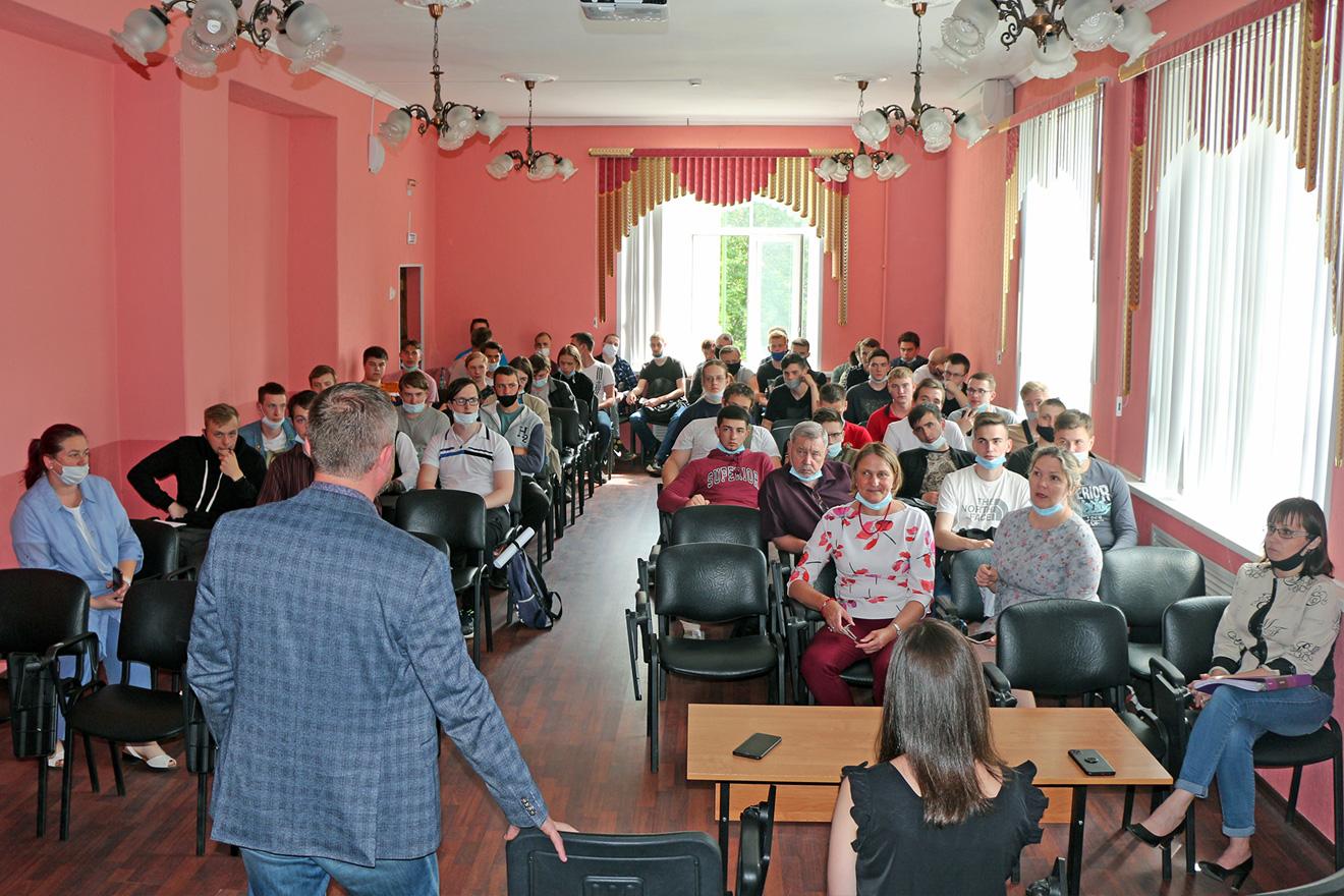 Встреча со студентами профессионально-педагогического колледжа