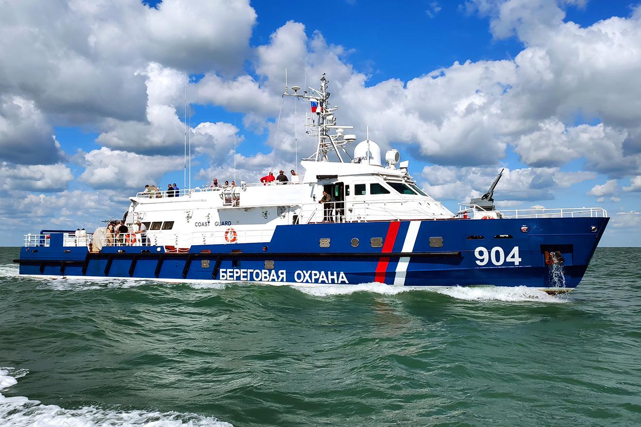 14 сентября 2021г. подписан приемный акт на речной Ламантин проекта 1496М1